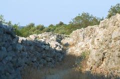 Stenväggar Arkivfoton