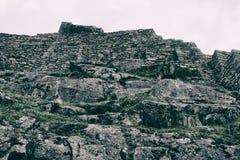 Stenväggar och vaggar Arkivbilder