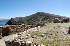 Stenväggen fördärvar, Bolivia Royaltyfri Foto