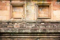 Stenväggen förläggas i a beautifully Arkivfoton