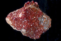 stenvanadinite Arkivfoto