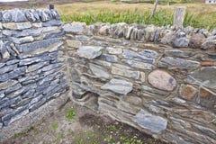 Stenväggar Arkivbild