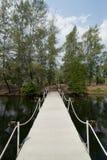 stenwalkway Arkivbild