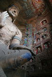 stenyungang för 61 snida grottoes Royaltyfri Fotografi