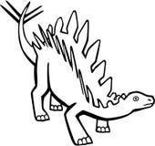 Steogsaurus иллюстрация вектора