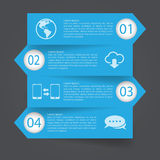 Step Banner Design template.Vector/Illustration. Flat design interface.illustrat ion. can be used for workflow layout, diagram, business step options, banner royalty free illustration