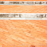 step   brick in  italy old       wall and texture material the backgro Royalty Free Stock Images