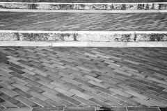 step   brick in  italy old wall and texture material the backgro Stock Photos