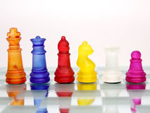Step Chess Royalty Free Stock Image
