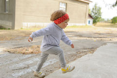 Step of Child Royalty Free Stock Image