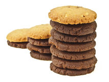 Step cookie on top Royalty Free Stock Photos