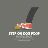 Step On Dog Poop. Royalty Free Stock Photography
