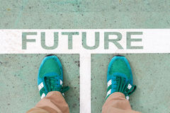 Step into the FUTURE Royalty Free Stock Photos