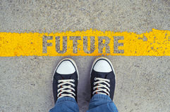 Free Step Into The Future. Royalty Free Stock Images - 43541379