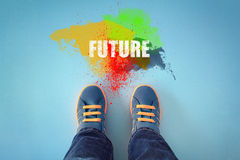 Free Step Into The Future Stock Image - 71122911
