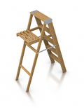 Step ladder Stock Images
