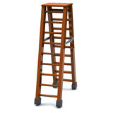 Step ladder 3d Stock Photos