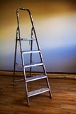 Step ladder. In renovated room Royalty Free Stock Photos