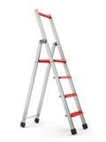 Step-ladder de alumínio ilustração do vetor