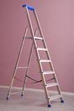 Step-ladder del metal imagen de archivo libre de regalías