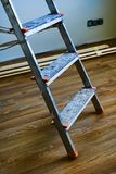 Step ladder detail Stock Photo