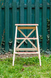 Step ladder garden Royalty Free Stock Photo