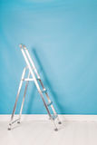 Step ladder in interior Stock Photo