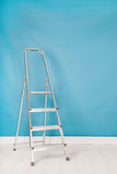 Step ladder in interior Royalty Free Stock Photo