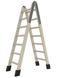 Step Ladder isolated on white Royalty Free Stock Image