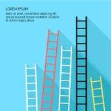Step ladder Vector illustration Stock Image