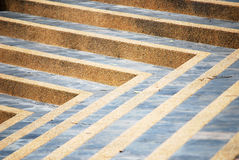 Step line angle surface Royalty Free Stock Photography