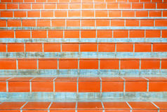 Step line surface. Background with orange colour Stock Images