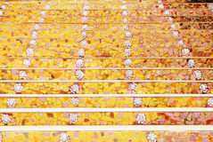 Step line surface. Background with yellow and orange colour Royalty Free Stock Image