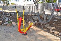 Step Machine Gym Equipment- Gymnasium Machine For Outdoor Exercise Stock Photos