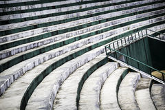 Step of old stadium seats Royalty Free Stock Image