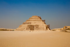 The Step Pyramid Of Djoser Stock Images