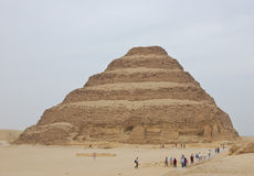 Step pyramid of Djoser Stock Images