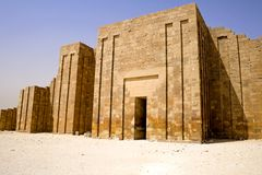 Step Pyramid of Djoser Royalty Free Stock Images
