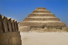 The Step Pyramid of Djoser Royalty Free Stock Photos