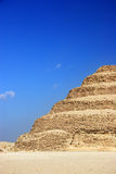 The Step Pyramid of Djoser abstract, Egypt. With copy space royalty free stock images