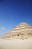 The Step Pyramid of Djoser, Egypt. Famous, landmark stock photography