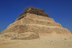 The Step Pyramid of Djoser in Egypt Royalty Free Stock Photos