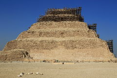 The Step Pyramid of Djoser in Egypt Royalty Free Stock Photography