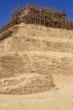 The Step Pyramid of Djoser in Egypt Stock Image