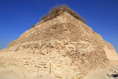 The Step Pyramid of Djoser in Egypt Royalty Free Stock Photo