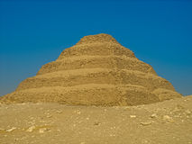 The Step Pyramid of Djoser. This is a picture of the step Pyramid of Djoser, at Saqqara, Egypt, one of the oldest buildings in the world Royalty Free Stock Photos