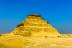 The Step Pyramid of Djoser at Saqqara Stock Photos
