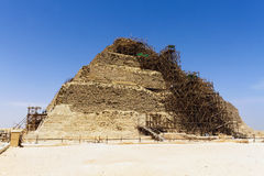 Step Pyramid of Djoser Royalty Free Stock Photos