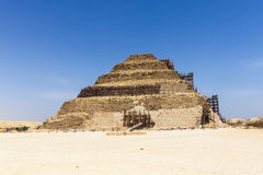 Step Pyramid of Djoser Royalty Free Stock Photography