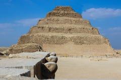 Free Step Pyramid Of Djoser. Desert. Saqqara. Egypt Stock Photos - 45464773
